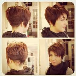razor cut hairstyles for 2015 short choppy layered razor cut with bangs hairstyles weekly
