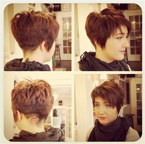 short choppy layered razor cut with bangs hairstyles weekly