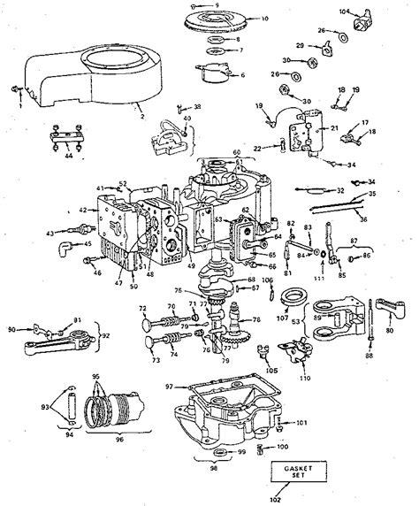 briggs and stratton engine parts diagram engine wiring printable briggs and stratton parts