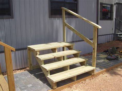 mobile trailer steps pictures to pin on pinsdaddy