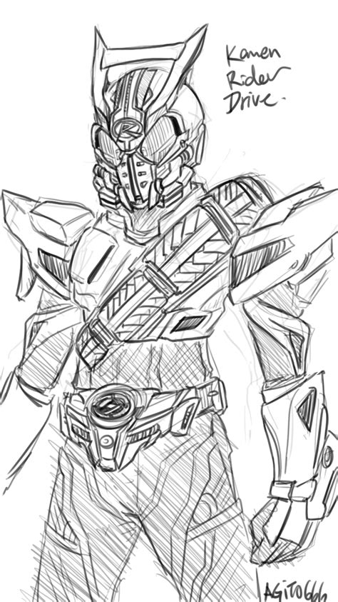 0525 kamen rider drive fan art by agito666 on deviantart