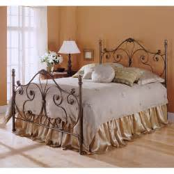aynsley iron bed in majestique by fashion bed