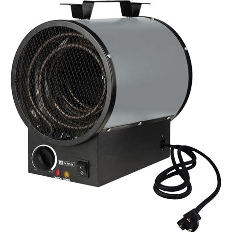 110 volt electric garage heaters king electric portable garage heater 12 795 btu 240