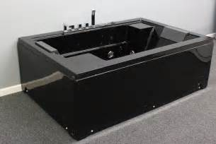 air jet big bathtub black color 2 person