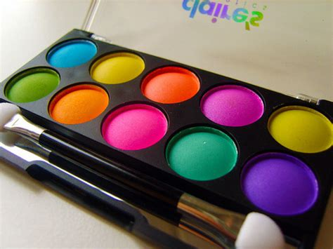 bright make up neon paint image 197954 on favim