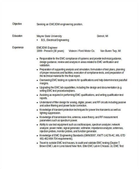 engineering resume template 32 free word documents free premium templates