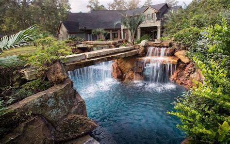 backyard pools with waterfalls 560 best swimming pools backyard oasis images on