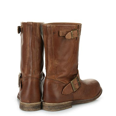 where to buy biker boots buffalo biker boots buffalo biker boots in cognac buy