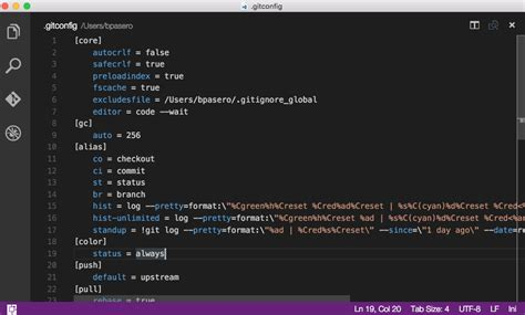 tutorial git linux how to use visual studio code as default editor for git