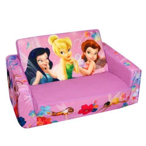 tinkerbell flip open sofa marshmallow fun furniture flip open sofa disney fairies