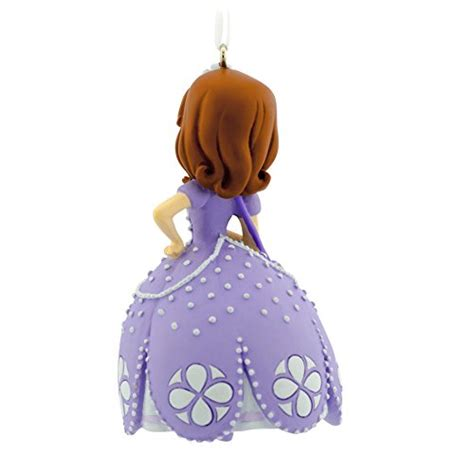 hallmark disney junior sofia the first christmas ornament