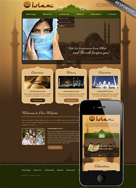islam wordpress theme best website templates