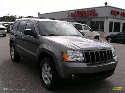 dark gray jeep cherokee 2008 mineral gray metallic jeep grand cherokee laredo