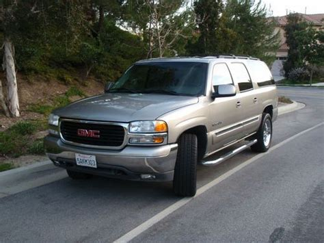 auto air conditioning service 2003 gmc yukon xl 1500 electronic valve timing sell used 2003 gmc yukon xl 1500 slt sport utility 4 door 5 3l in san clemente california