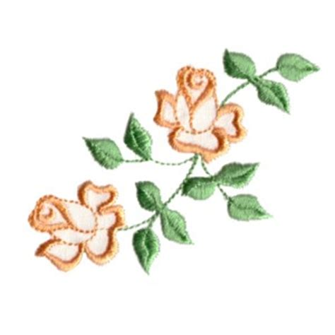 embroidered garden flowers botanical motifs for needle and thread make crafts books adorable roses machine embroidery designs