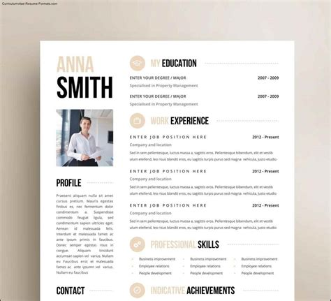 Free Unique Resume Templates Word by Creative Resume Templates Free Word Free Sles