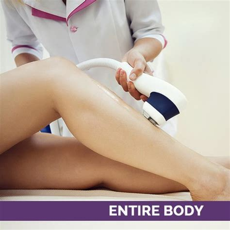 spa services and laser treatments aria 1 year of laser hair removal treatment entire body