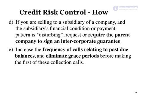 Credit Risk Management Formula credit risk management