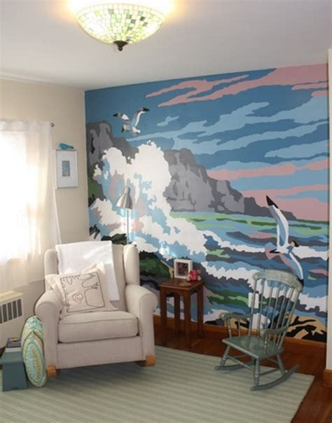 how to paint murals on bedroom walls wall and painted murals interior design