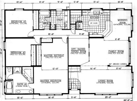 floor plans for a mansion valley quality homes mansion series 2832 floor plan