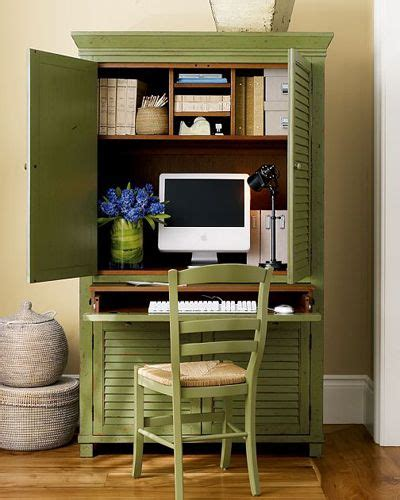 Pottery Barn Computer Armoire by Seymour Home Office Armoire Via The Pottery Barn