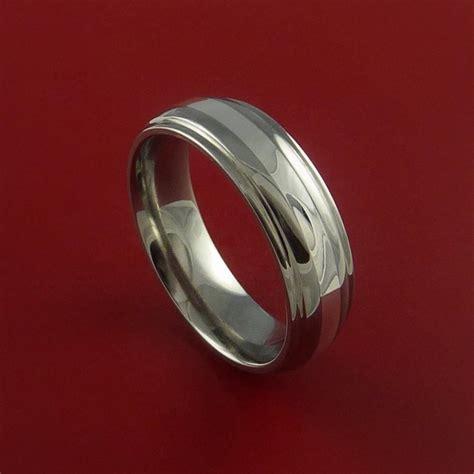 dont buy titanium or tungsten wedding bands white gold vs titanium white gold