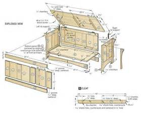 Build Your Own Patio Table by How To Build A Hope Chest Plans Free Plantation Porch