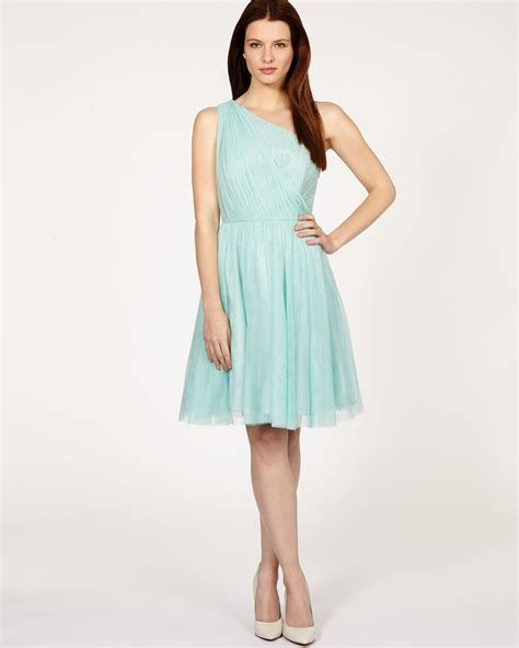 Dress Poppi Green lyst coast dress poppy in green