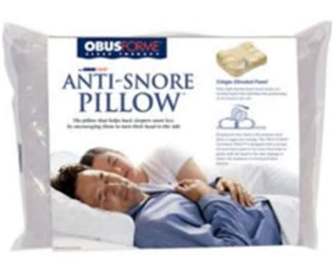 how do anti snore pillows work obus forme anti snore pillow review my snoring solutions