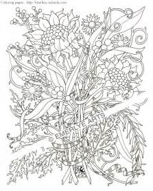 coloring pages for adults nature free coloring pages of nature