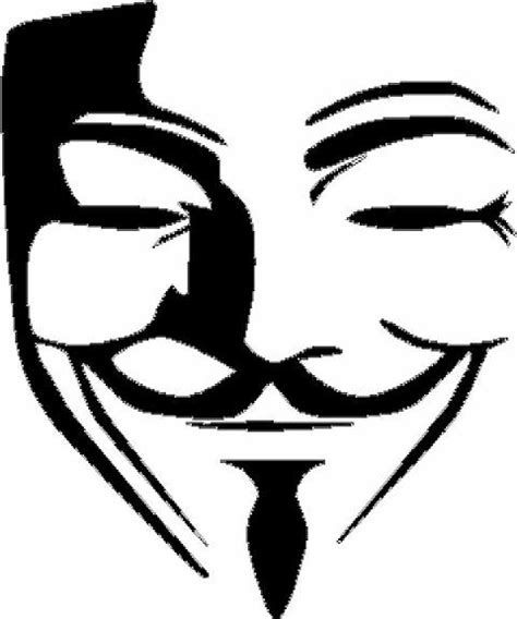 V For Vendetta Coloring Pages by Fawkes Mask Vinyl Decal Sticker Anonymous Vendetta