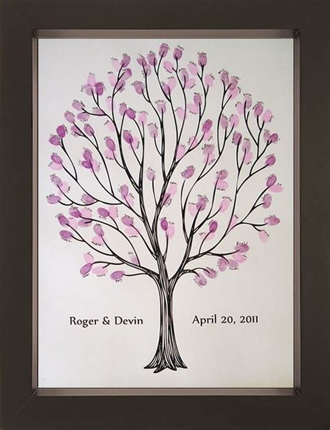 new year fingerprint tree 93 best images about new years wedding ideas on