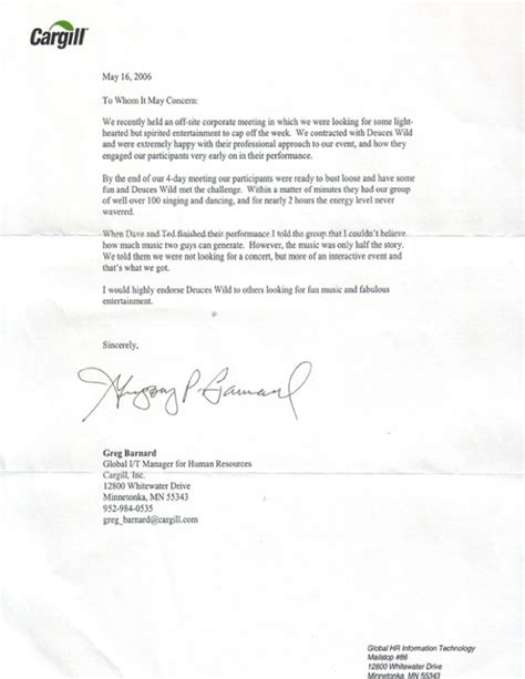 Letter Of Recommendation Date letters of recommendation exlesexles of reference
