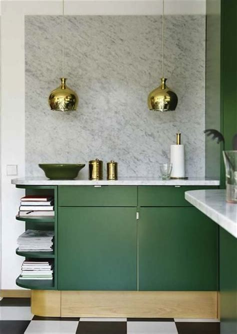 Green Cabinets In Kitchen Inspiration Emerald Green Kitchens Lark Linen