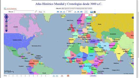 atlas histrico de la geacron atlas hist 243 rico mundial y cronol 243 gico interactivo e impresionante m 225 squesig