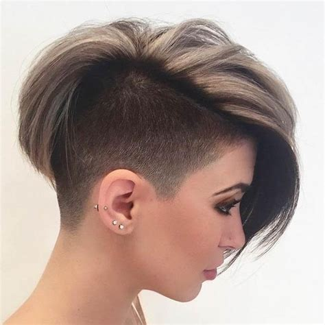 20 best of short hairstyles with both sides shaved 2018 popular short hairstyles one side shaved