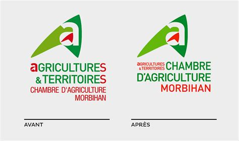 logo chambre agriculture univers graphique et supports institutionnels orignal