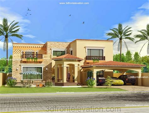 Open Floor Plan Layout by 3d Front Elevation Com Pakistan Front Elevation Of House