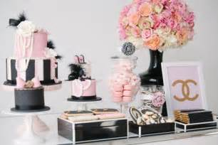 southern blue celebrations coco chanel party ideas