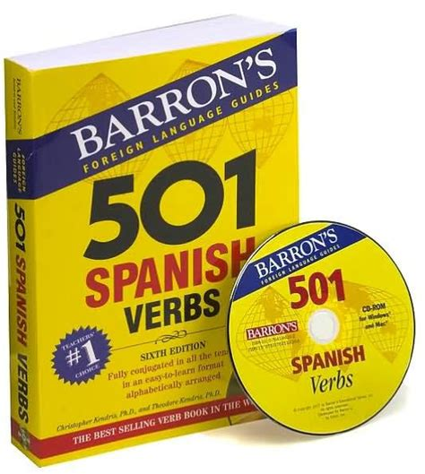 libro 501 spanish verbs 501 501 spanish verbs by christopher kendris ph d theodore kendris paperback barnes noble