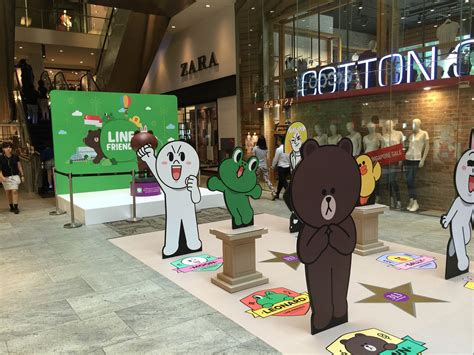 Lines Up Two In Store Performances To The Release Of Highly Anticipated Debut Album In Motion by Line Friends Pop Up Store Opens In Singapore Get Your