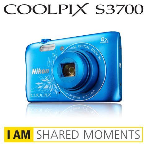 Kamera Nikon Coolpix S3700 nikon coolpix s3700 digitalkamera 2 6 zoll silber de kamera