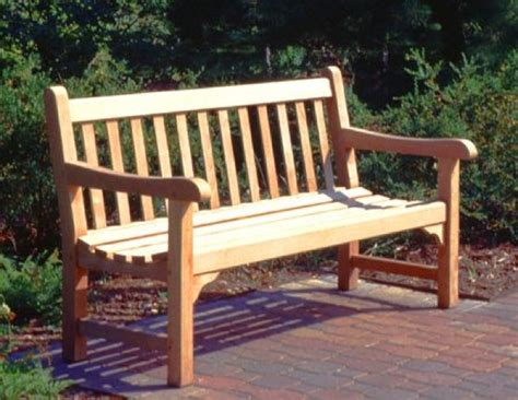plans for park bench park bench woodworking plans