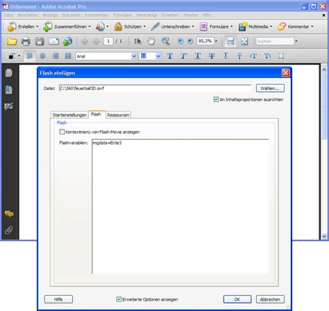 flash tutorial in pdf videos tutorials flash in pdf dokumente einbinden