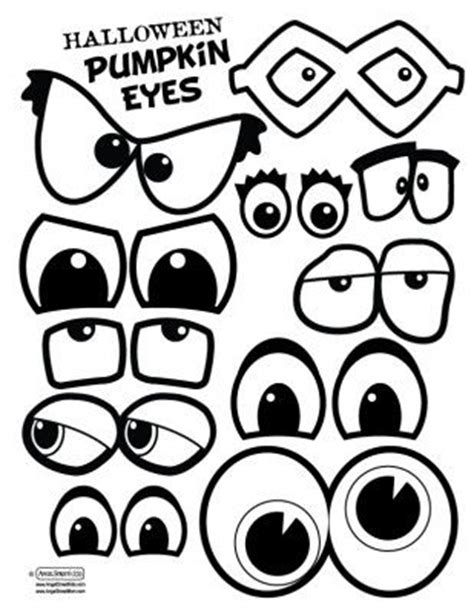 printable halloween spooky eyes k 252 rbisse zeichentrickgesichter and muster on pinterest