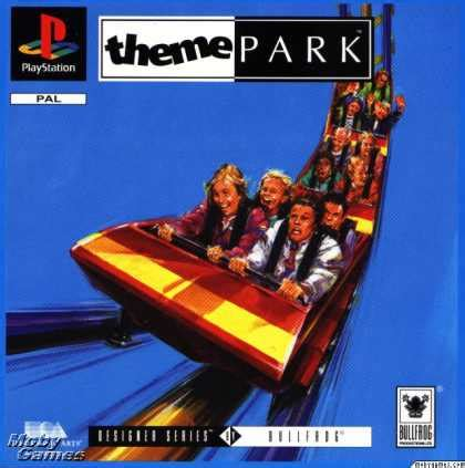 theme park ps3 playstation games covers 700 749
