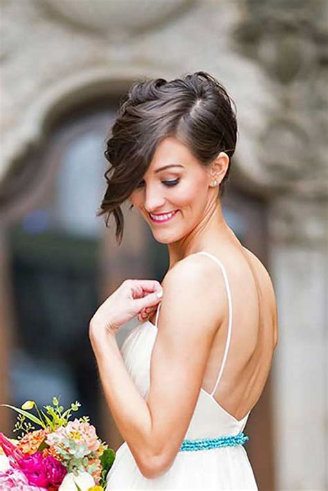 Wedding Hairstyles With A Bob Cut by Get Ready With Your Hair For Wedding
