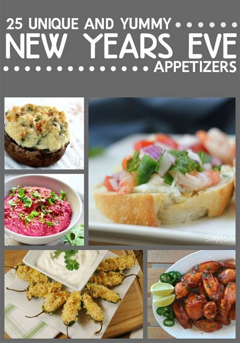 unique new year snacks best 25 new year s appetizers ideas on