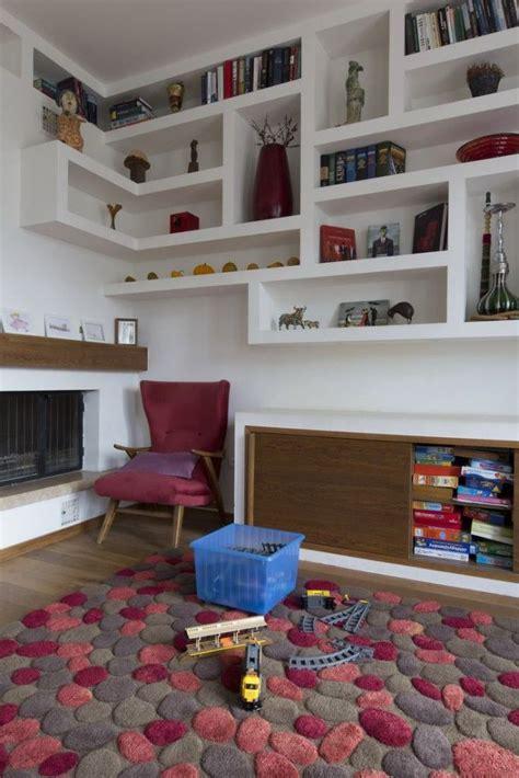 libreria in cartongesso fai da te oltre 20 migliori idee su mensole soggiorno su