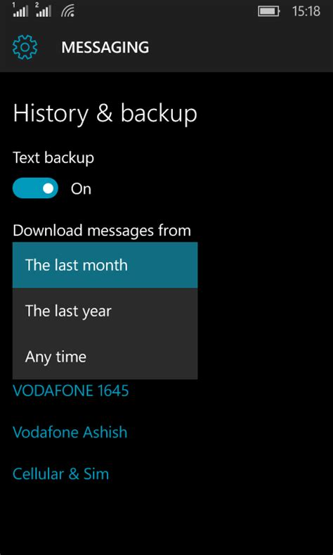 backup mobile how to backup and restore windows 10 mobile